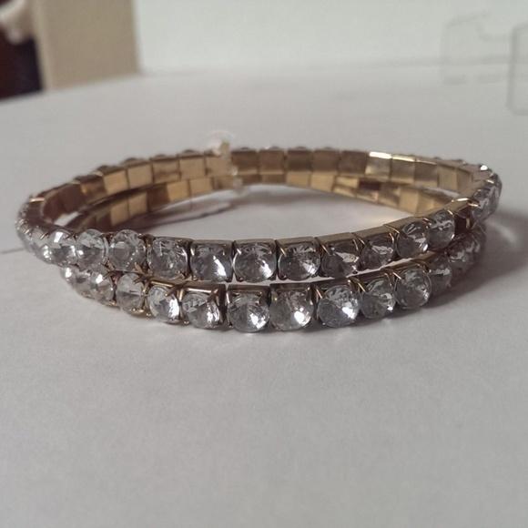 Nordstrom Jewelry Rhinestone Bracelets Set Of 2 26 Poshmark